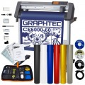 Graphtec CE6000 60P Plotter with Oracal 751 6 Colors & Weeding Kit