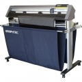 "48"" Graphtec CE6000 120 AKZ Vinyl Cutter Plotter, Anti  Static Widow Tint Package"