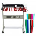 Roland GS 24 CAMM 1 Vinyl Cutter with Stand & 10 Rolls of Oracal Vinyl