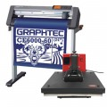 Graphtec CE6000 60 or 120 PLUS Vinyl Cutting Plotter with FREE Heat Press